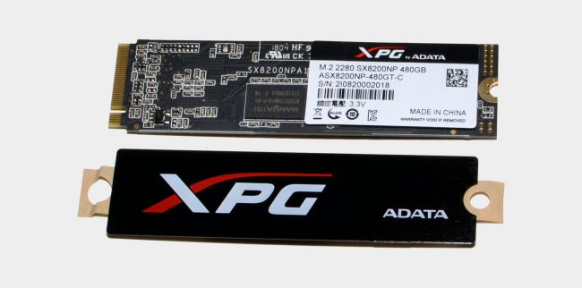 Ổ cứng ssd nvme Adata XPG SX8200 480GB