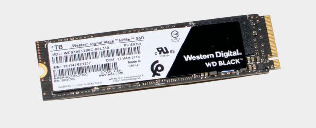 Ổ cứng SSD NVME WD Đen 1TB (2018)