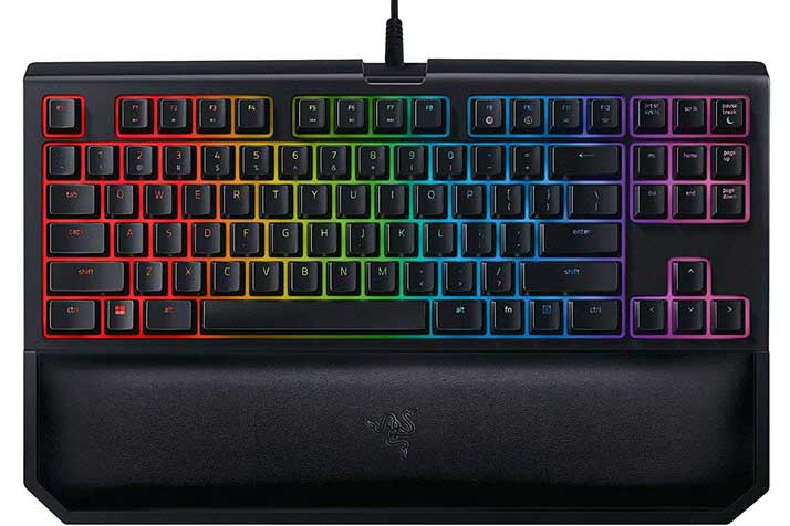 Bàn phím cơ Razer BlackWidow Tournament Edition Chroma-V2 Mechanical Keyboard