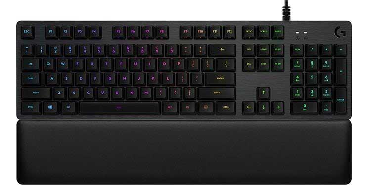 Bàn phím cơ gaming Logitech G513 LIGHTSYNC RGB