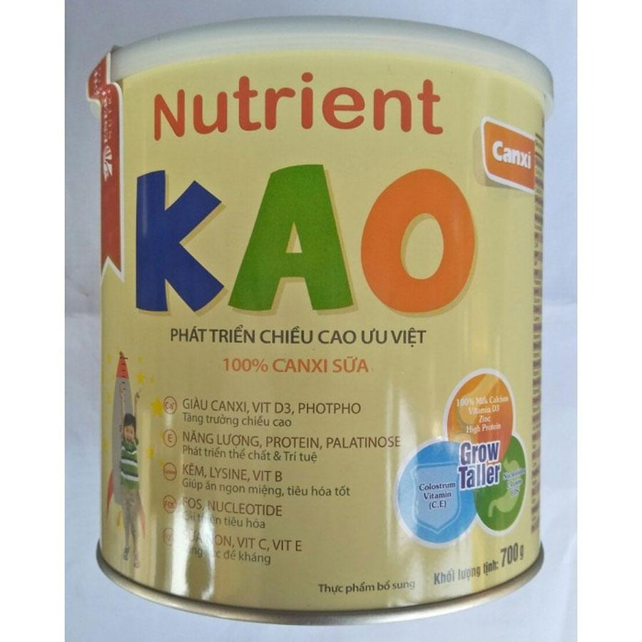 sữa Nutrient Kao- sữa tăng chiều cao