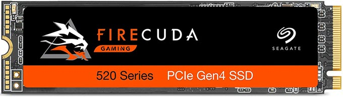 ổ cứng ssd Seagate FireCuda 520 PCIe Gen4